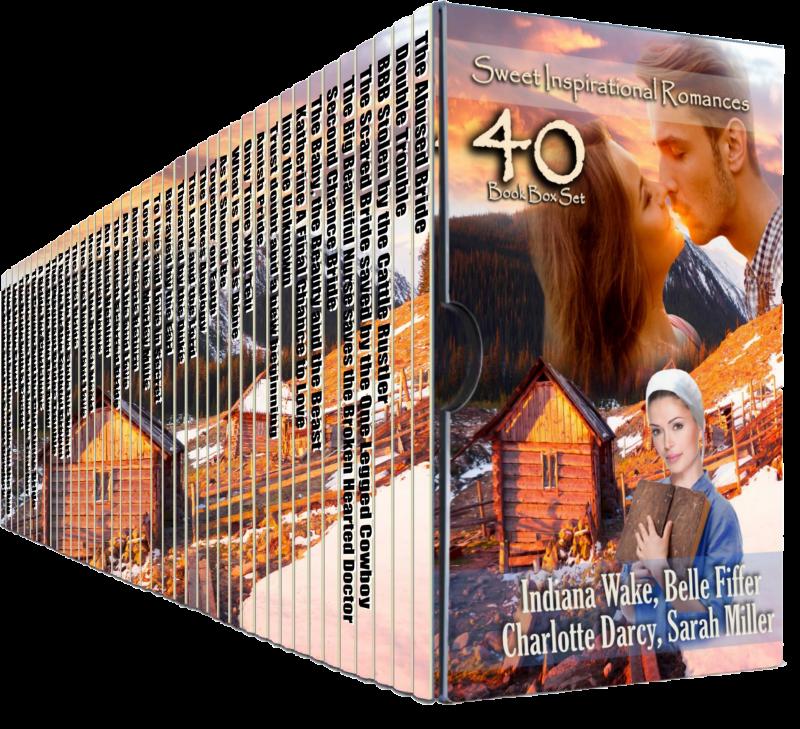 40 Sweet Inspirational Romances Boxed Set