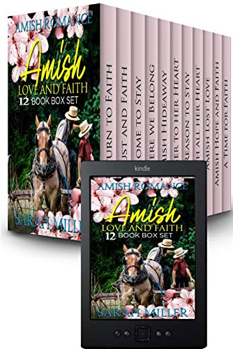 Amish Love and Faith: 12 Book Amish Box Set