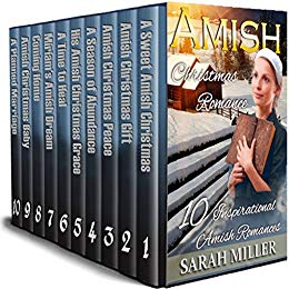 Amish Christmas Boxset – A Celebration of Faith: 10 Inspirational Amish Romances