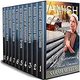 Amish Christmas Boxset – A Celebration of Faith: 10 Inspirational Amish Romances