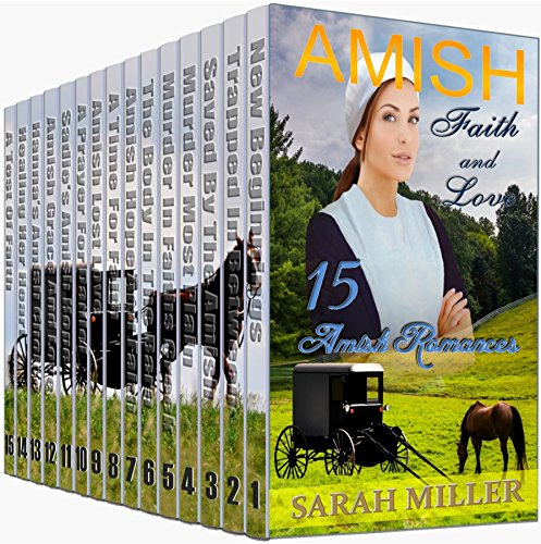Amish Romance 15 Book Box Set: Amish Faith and Love