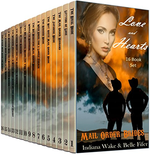 17 Book Box Set: Love and Hearts Ride West