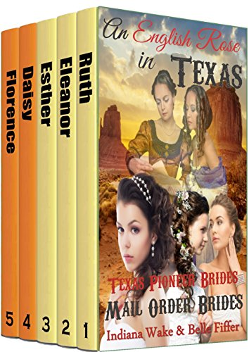 5 Book Box Set: An English Rose in Texas