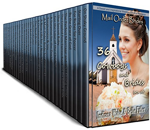 36 Book Cowboy and Brides Box Set