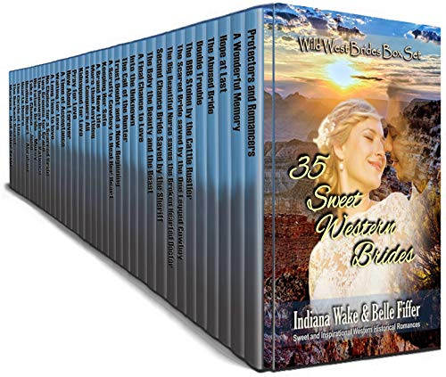 35 Sweet Western Brides: Wild West Brides Box Set
