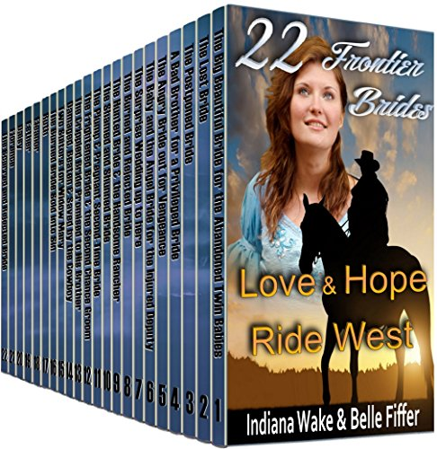 22 Book Box Set: Love & Hope Ride West