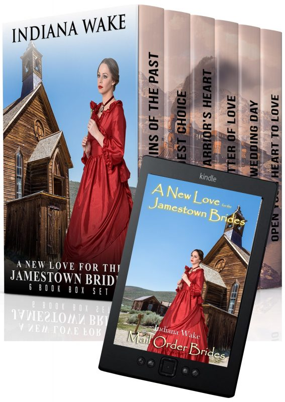 A New Love for the Jamestown Brides Box Set