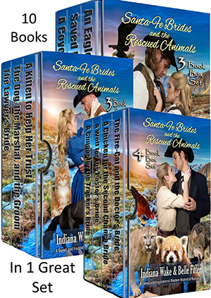 The Santa Fe Brides and the Rescued Animals Complete 10 Book Box Set