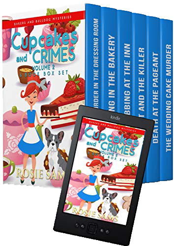 Cupcakes and Crimes Volume 2 Box Set