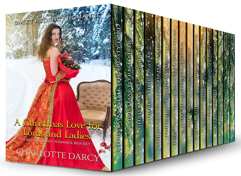 A Christmas Love for Lords and Ladies 16 Book Box Set