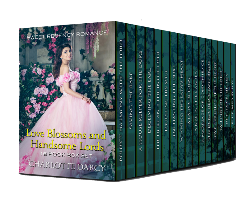Love Blossoms and Handsome Lords 16 Book Box Set
