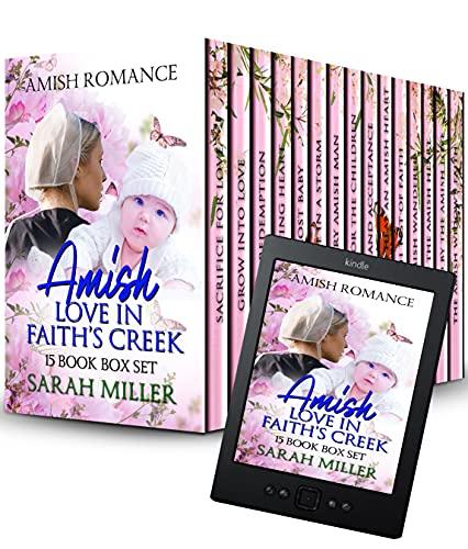 Amish Love in Faith's Creek 15 Book Box Set